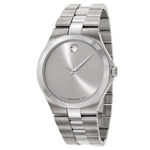 【送料無料】movado mens quartz watch 0606556