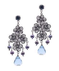【送料無料】orecchini earring yvone christa e5142