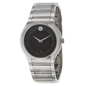 【送料無料】movado mens quartz watch 0606478