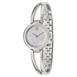 movado womens quartz watch 0606813