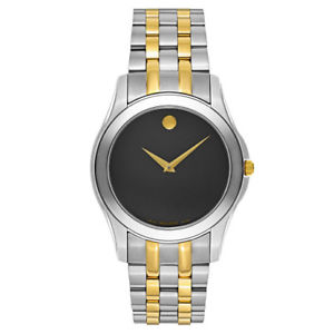 【送料無料】movado mens quartz watch 0606956
