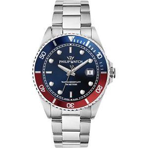 【送料無料】orologio philip watch caribe r8253597042 uomo watch swiss made blu 100m zaffiro