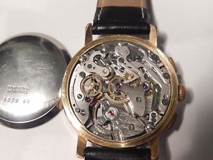 delvina chronograph with box  landeron 248 movement