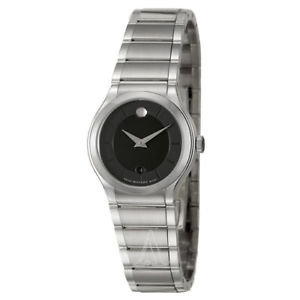【送料無料】movado womens quartz watch 0606493