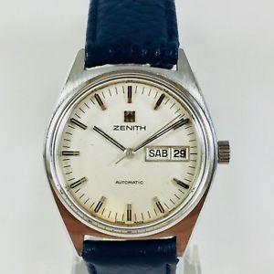 【送料無料】orologio zenith daydate in acciaio a carica automatica revisionato