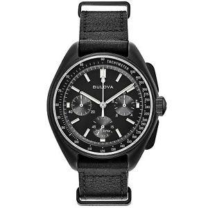 【送料無料】bulova 98a186 special edition lunar pilot chronograph wristwatch