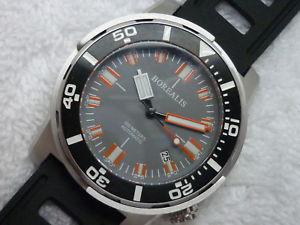 【送料無料】borealis automatic diver 300 meters 990 f stainless steel watch nice