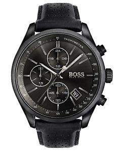 【送料無料】boss chronograph herrenuhr grand prix chrono 1513474