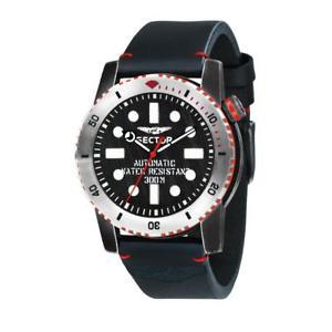 【送料無料】orologio meccanico automatico uomo sector dive 300 r3221598001 nero nuovi arrivi