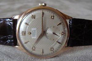 【送料無料】vintage orologio watch horus oro gold 18k 0,750 manuale felsa calibro 390