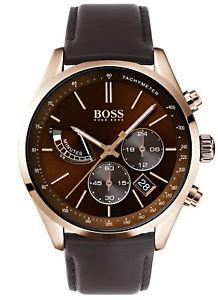 【送料無料】boss herrenuhr grand prix chronograph chrono 1513605