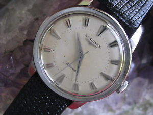 【送料無料】longines vintage stainless steel automatic wrist watch