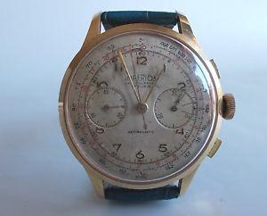 【送料無料】imperios chronograph 17 rubis antimagnetic swiss vintage funzionante