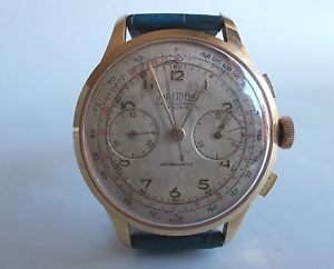 imperios chronograph 17 rubis antimagnetic swiss vintage funzionante