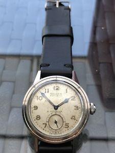 【送料無料】rare vintage gruen precision 1940 autowind cal 460 all stainless steel