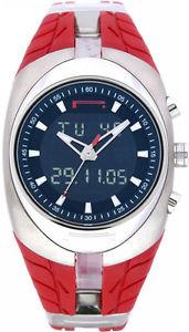 【送料無料】orologio pirelli pzero tempo anadigit rosso 7951901325 swiss made digitale watch