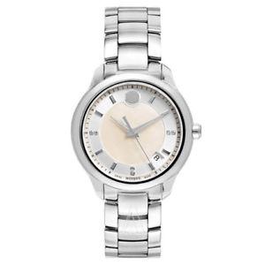 【送料無料】movado womens quartz watch 0606978