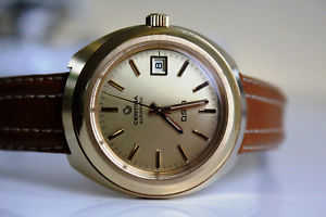 certina ds3 automatic 20m gold *near nos 1978*