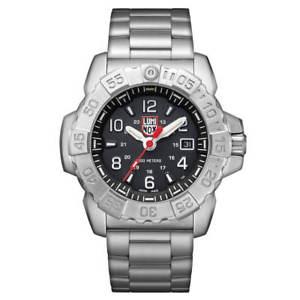 【送料無料】luminox 3252 mens navy seal steel 3250 steel bracelet dive watch