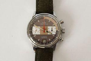 【送料無料】montre chronographe suisse dugena cal valjoux 7734 70s mint vintage