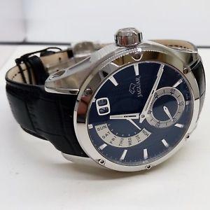 【送料無料】orologio jaguar uomo special edition j678b pelle quadrante nero giornodata