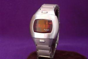 【送料無料】pulsar led watch p3l