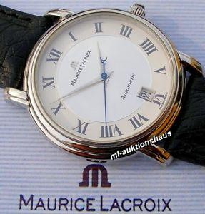 【送料無料】elegante maurice lacroix pontos date