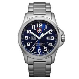 【送料無料】luminox 1924m mens atacama field day date 1920 swiss steel watch