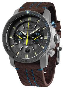 【送料無料】vostok europe titan herrenchronograph ekranoplan chrono 6s21546h514