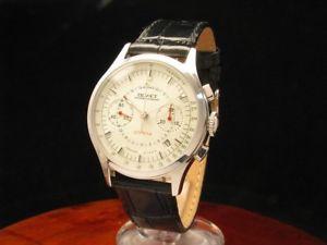 poljot strela edelstahl handaufzug chronograph herrenuhr limitierte auflage