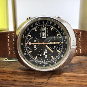 【送料無料】rare vintage godiva chronograph swiss made watch 38mm 7750eta