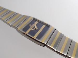 baume amp; mercier zebra gold  stahl uhr ref 5820038