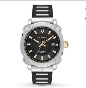 【送料無料】 bulova 98b319 special grammy edition mens precisionist watch 41mm