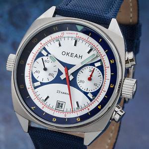 【送料無料】okean poljot 31331981599 chronograph legendre russische militruhr ocean okeah