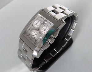 【送料無料】baume amp; mercier hampton chronograph watch ref 65341 box, papers amp; spare links
