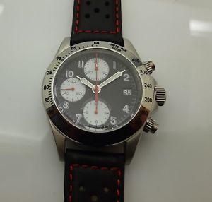 【送料無料】chronographe anonyme daytona 38mm en acier automatique valjoux 7750 swiss