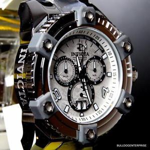 【送料無料】invicta reserve grand octane arsenal meteorite high polish swiss 64mm watch