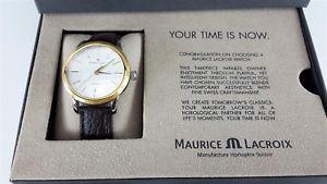 【送料無料】maurice lacroix les classiques mens automatic watch lc6017pvy01130
