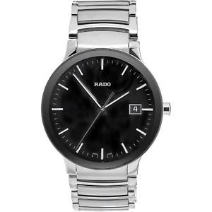 【送料無料】rado mens centrix 38mm steel bracelet amp; case quartz analog watch r30927153