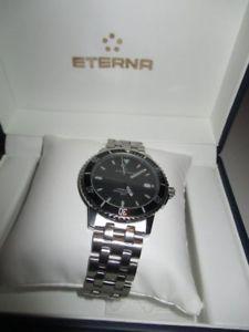 【送料無料】eterna eternamatic chronometer taucheruhr diver 200 m saphirglas 43 mm box