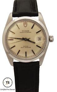 【送料無料】tudor prince oyster date rotor selfwinding stainless 34mm 90500 1969 watch
