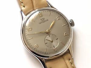 【送料無料】lemania beautiful vintage wristwatch