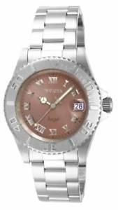 【送料無料】invicta womens angel quartz stainless steel watch 14362