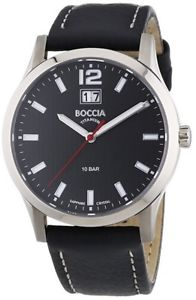 【送料無料】boccia gents titanium date display watch bonp os b358001