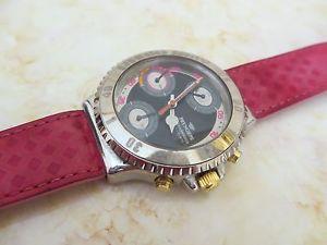 【送料無料】orologio pryngeps cronograph watch vintage anni 80 montre originale 100 rare