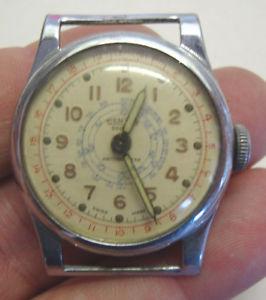 【送料無料】early 20th century mentor sport antimagnetic gents wristwatch
