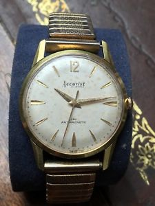 【送料無料】vintage accurist swiss made gents 21 jewels gold plated as 2390 watch