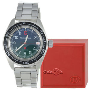【送料無料】vostok komandirskie k020 russian military watch 2416020711