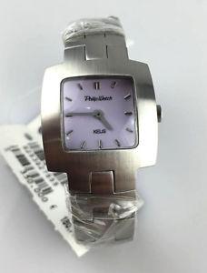 【送料無料】orologio philip watch kelis eta swiss made orologio donna lady acciaio quarzo