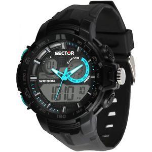 【送料無料】orologio sector ex47 uomo r3251508003 watch digitale anadigit dual crono